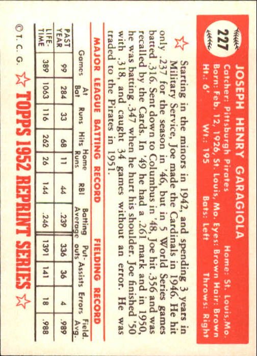 1983-Topps-1952-Reprint-BB-Card-039-s-1-250-You-Pick-Buy-10-cards-FREE-SHIP thumbnail 378