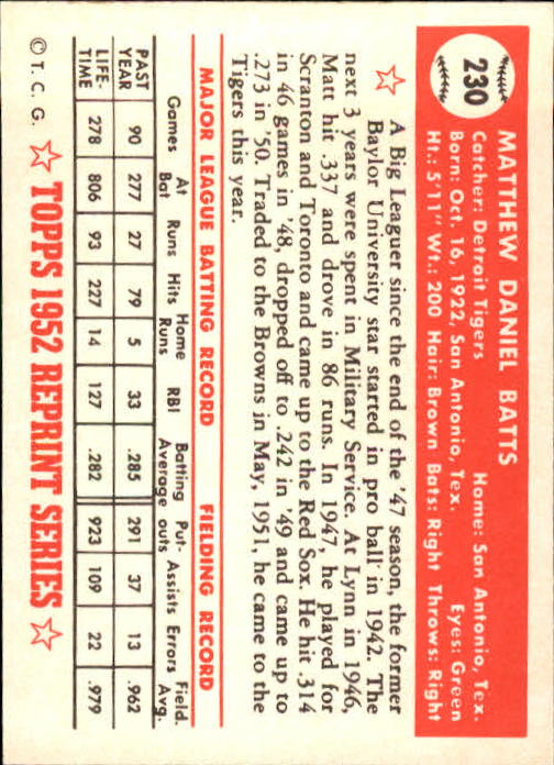 1983-Topps-1952-Reprint-BB-Card-039-s-1-250-You-Pick-Buy-10-cards-FREE-SHIP thumbnail 384