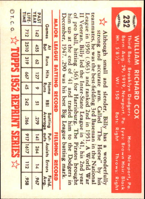 1983-Topps-1952-Reprint-BB-Card-039-s-1-250-You-Pick-Buy-10-cards-FREE-SHIP thumbnail 388