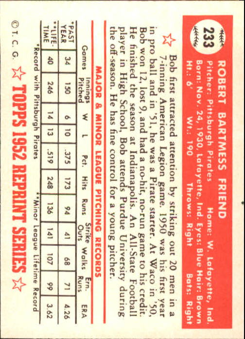 1983-Topps-1952-Reprint-BB-Card-039-s-1-250-You-Pick-Buy-10-cards-FREE-SHIP thumbnail 390