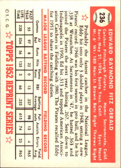 1983-Topps-1952-Reprint-BB-Card-039-s-1-250-You-Pick-Buy-10-cards-FREE-SHIP thumbnail 396