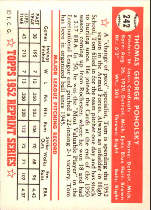 1983-Topps-1952-Reprint-BB-Card-039-s-1-250-You-Pick-Buy-10-cards-FREE-SHIP thumbnail 406