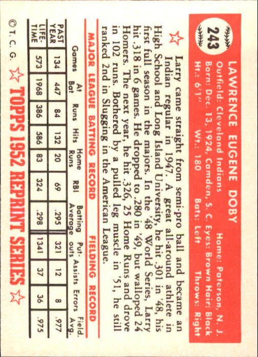 1983-Topps-1952-Reprint-BB-Card-039-s-1-250-You-Pick-Buy-10-cards-FREE-SHIP thumbnail 408
