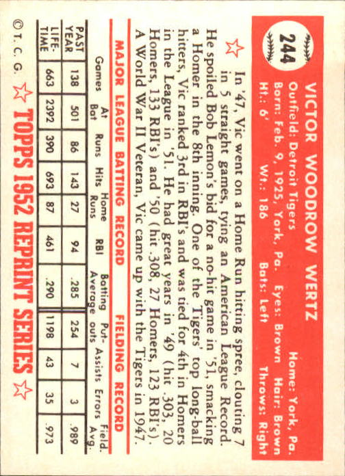 1983-Topps-1952-Reprint-BB-Card-039-s-1-250-You-Pick-Buy-10-cards-FREE-SHIP thumbnail 410