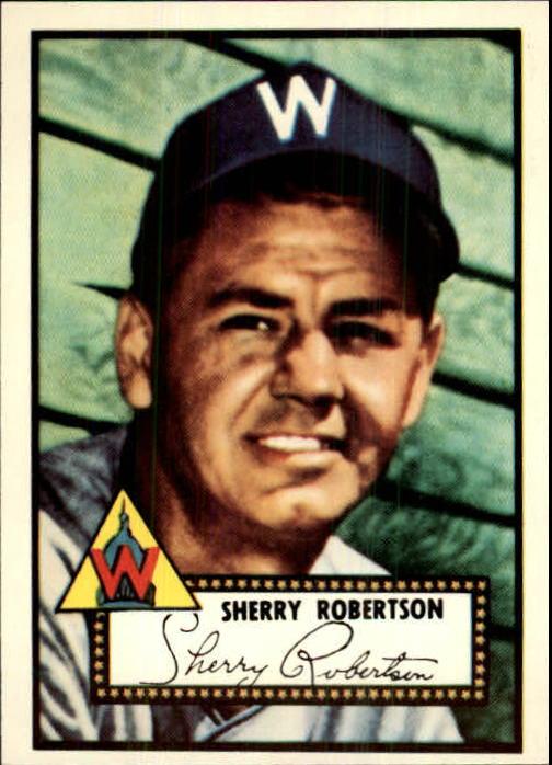 1983 Topps 1952 Reprint #245 Sherry Robertson