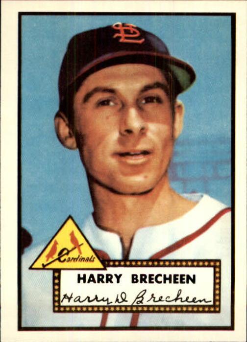 1983 Topps 1952 Reprint #263 Harry Brecheen