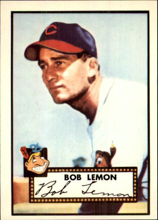 1983 Topps 1952 Reprint #268 Bob Lemon