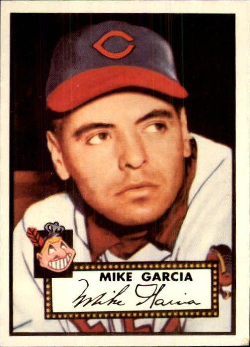 1983 Topps 1952 Reprint #272 Mike Garcia