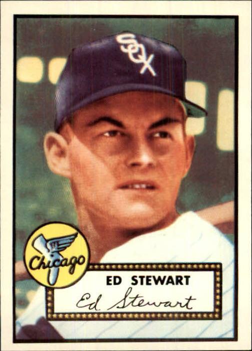 1983 Topps 1952 Reprint #279 Eddie Stewart