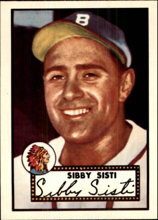 1983 Topps 1952 Reprint #293 Sibby Sisti