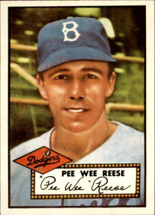 1983 Topps 1952 Reprint #333 Pee Wee Reese