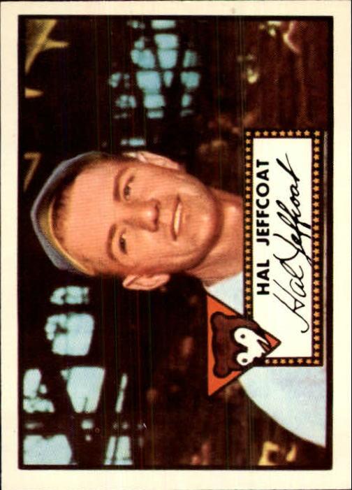 1983 Topps 1952 Reprint #341 Hal Jeffcoat