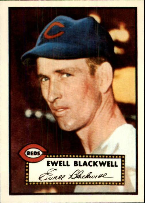 1983 Topps 1952 Reprint #344 Ewell Blackwell