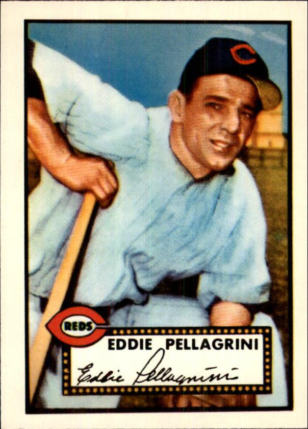 1983 Topps 1952 Reprint #405 Eddie Pellagrini