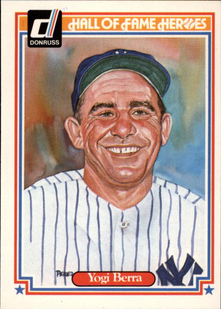 1983 Donruss HOF Heroes #24 Yogi Berra