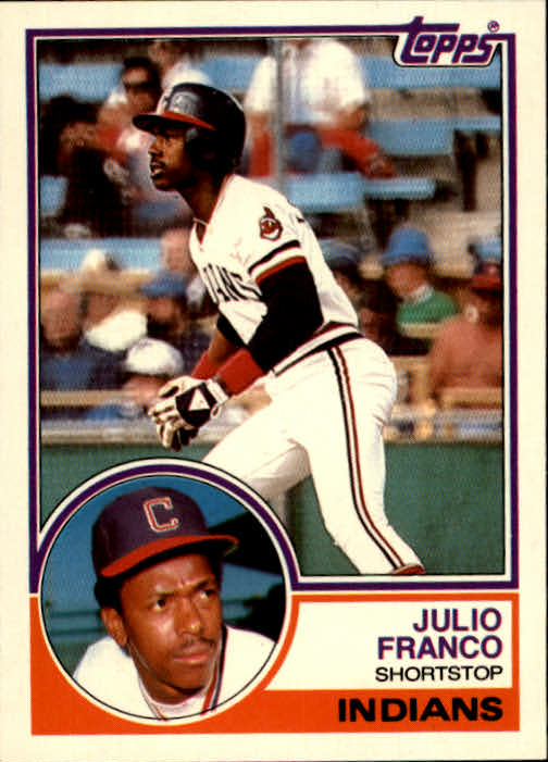1983 Topps Traded #34T Julio Franco XRC