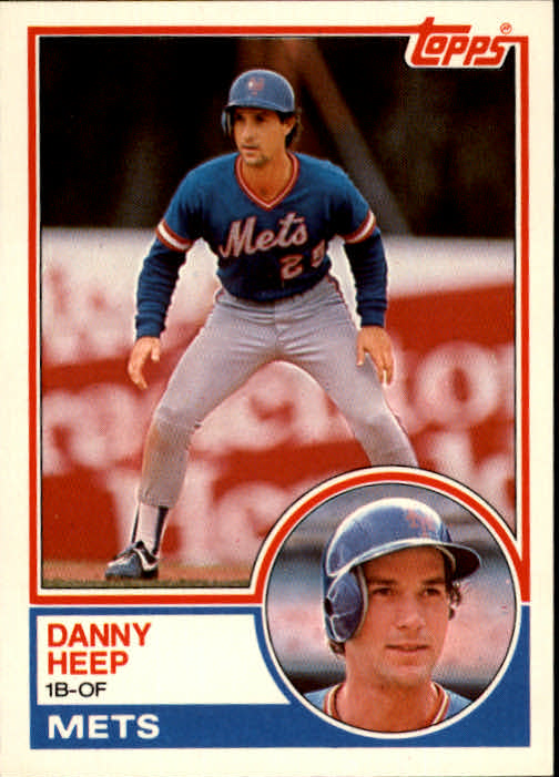 1983 Topps Traded #41T Danny Heep