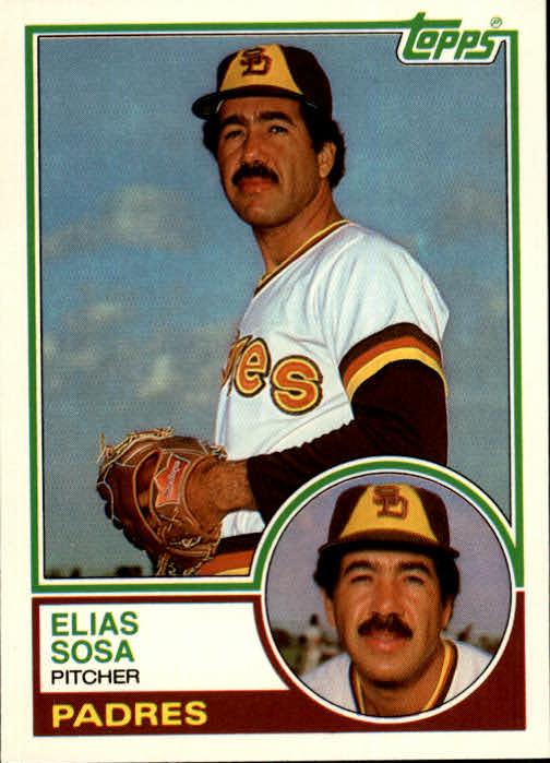 1983 Topps Traded #107T Elias Sosa