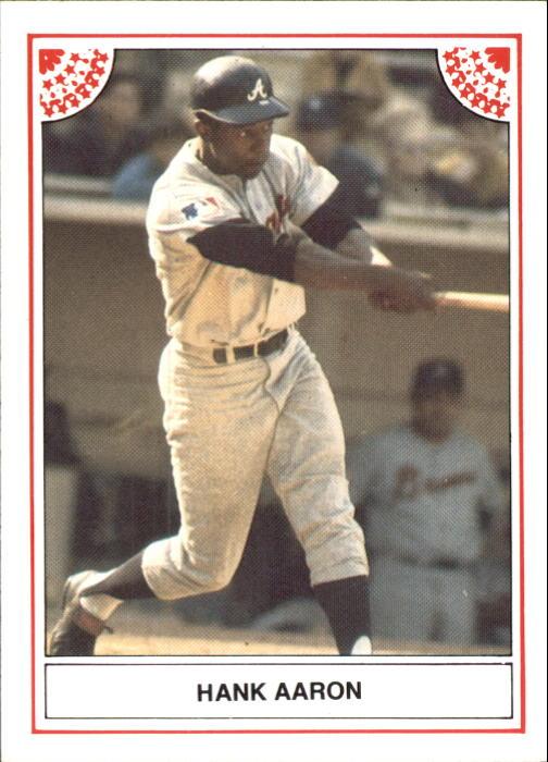 1983 ASA Hank Aaron #8 Hank Aaron/1969 Braves