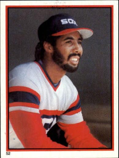 1983 O-Pee-Chee Stickers #52 Harold Baines