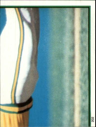 1983 O-Pee-Chee Stickers #202 Rickey Henderson RB