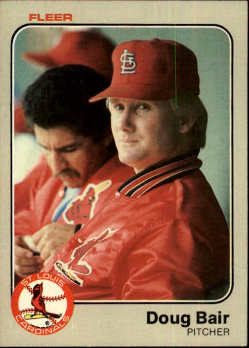 1983 Fleer #2 Doug Bair