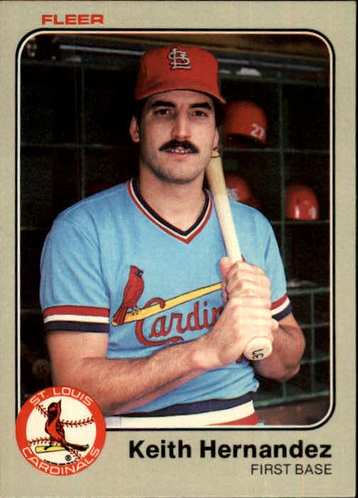 1983 Fleer #8 Keith Hernandez