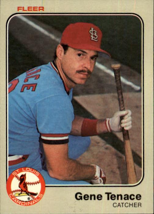 1983 Fleer #25 Gene Tenace