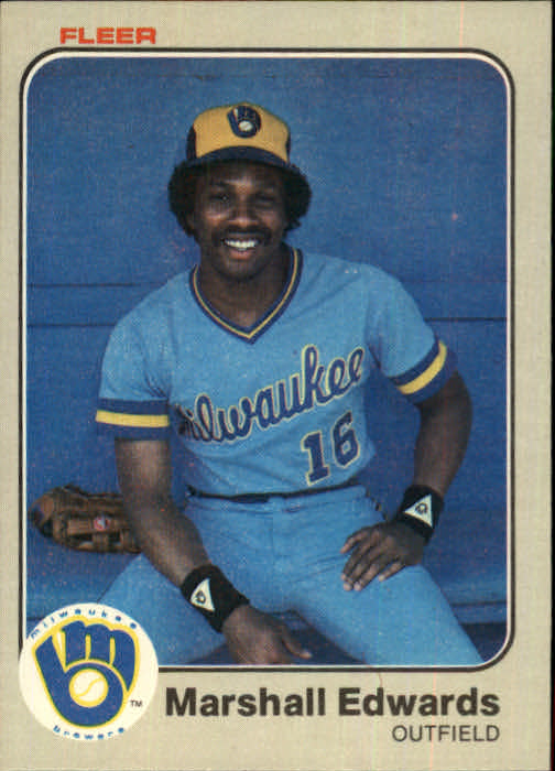 1983 Fleer #32 Marshall Edwards