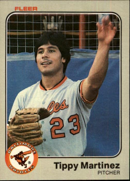 1983 Fleer #65 Tippy Martinez