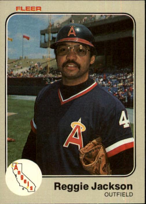 1983 Fleer #93 Reggie Jackson