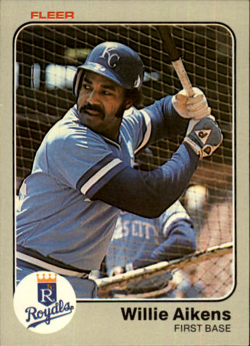 1983 Fleer #104 Willie Aikens
