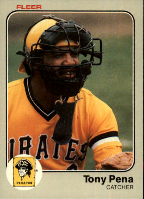 1983 Fleer #316 Tony Pena