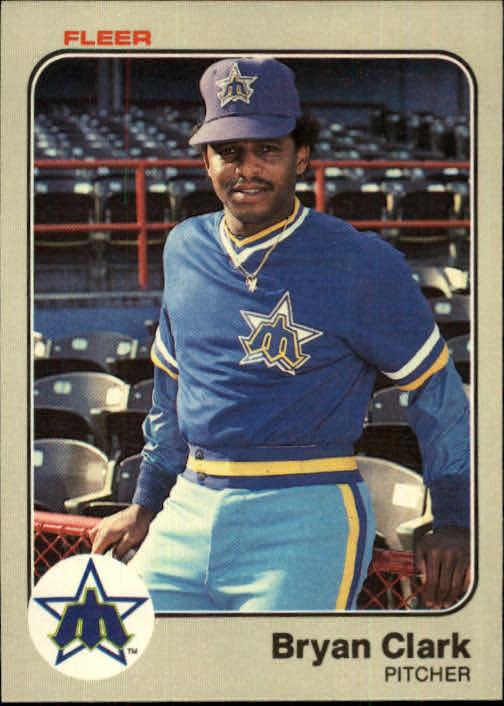1983 Fleer #476 Bryan Clark