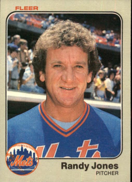 1983 Fleer #546 Randy Jones