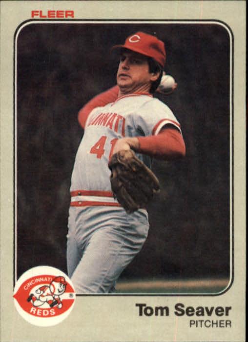 1983 Fleer #601 Tom Seaver