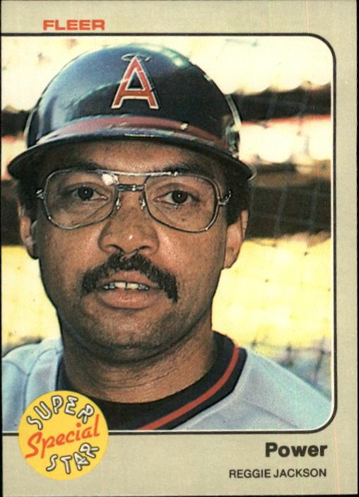 1983 Fleer #645 Reggie Jackson Power