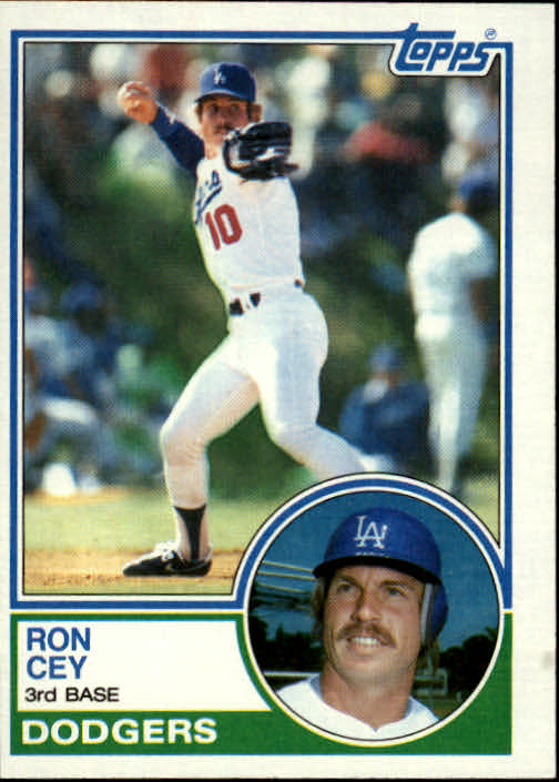 1983 Topps #15 Ron Cey