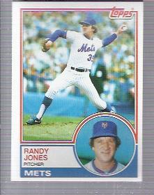 1983 Topps #29 Randy Jones
