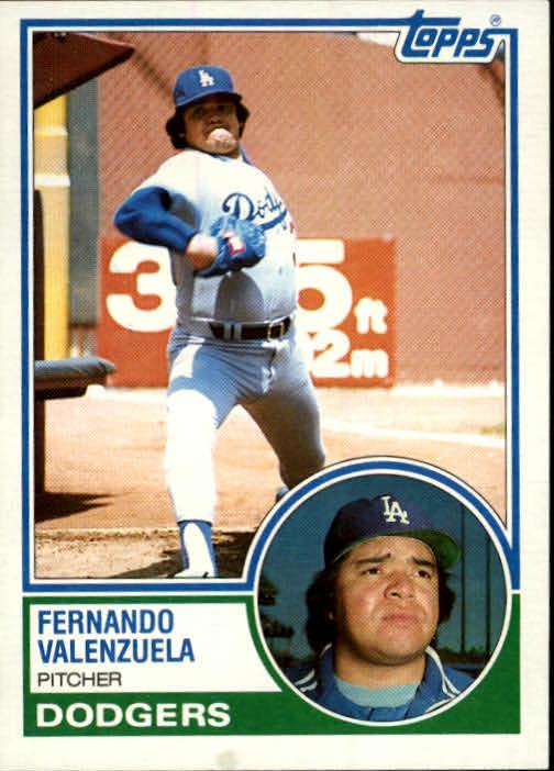 1983 Topps #40 Fernando Valenzuela