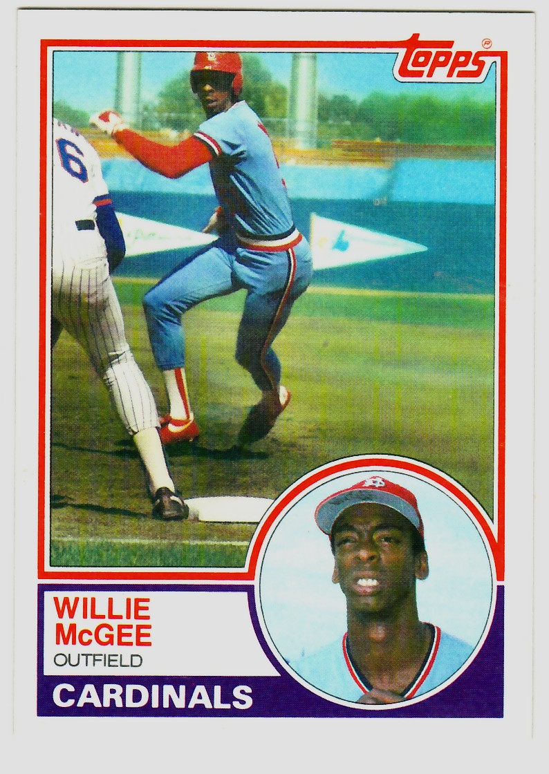 1983 Topps #49 Willie McGee RC