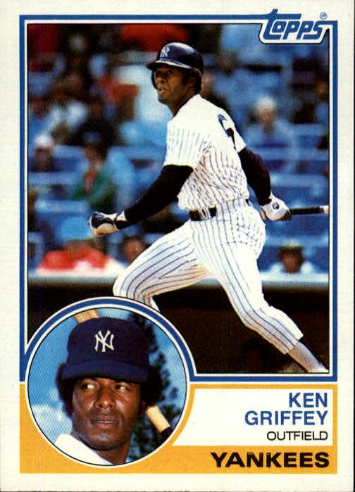 1983 Topps #110 Ken Griffey