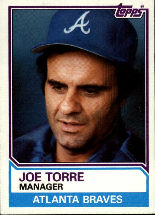 1983 Topps #126 Joe Torre MG