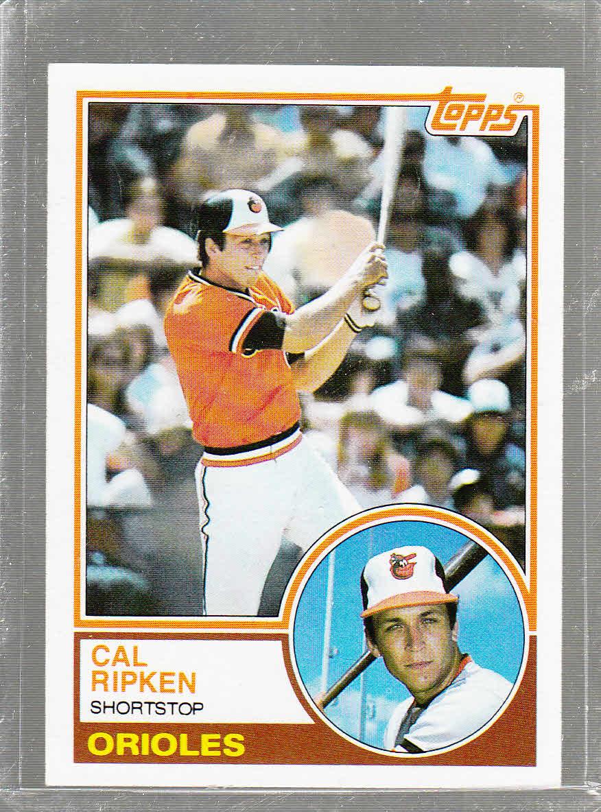 1983 Topps #163 Cal Ripken