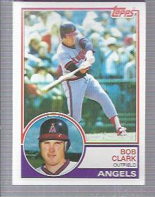 1983 Topps #184 Bob Clark
