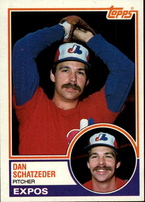 1983 Topps #189 Dan Schatzeder