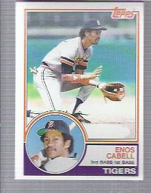 1983 Topps #225 Enos Cabell