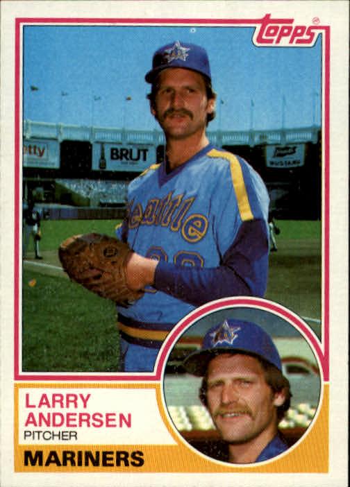 1983 Topps #234 Larry Andersen