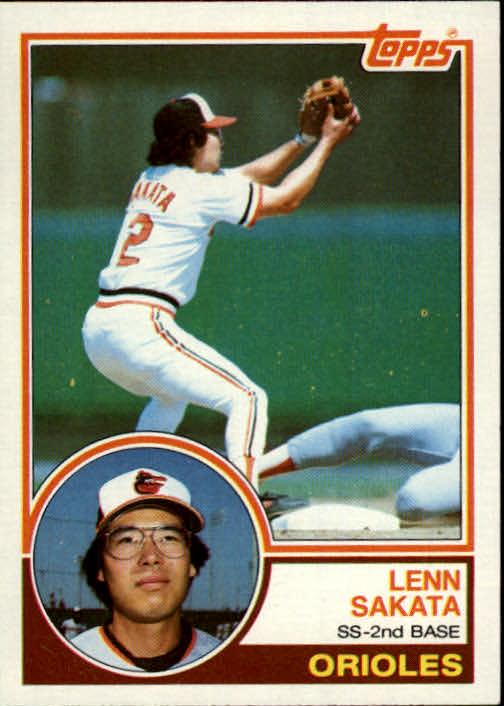 1983 Topps #319 Lenn Sakata