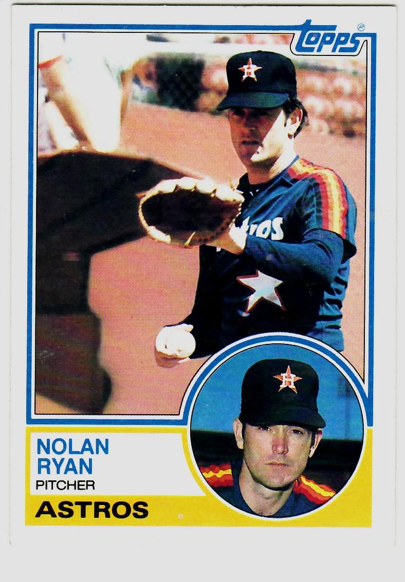1983 Topps #360 Nolan Ryan